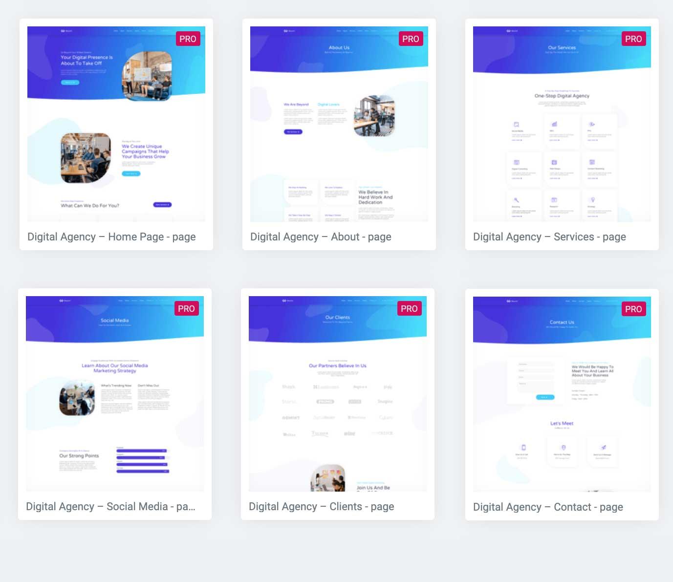digital agency <b>Autor:</b> Elementor | <b>Actualizado al:</b> 11/9/2019