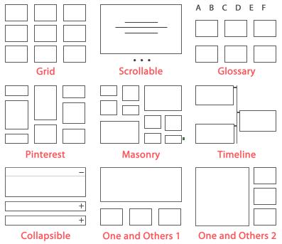 2 layouts min